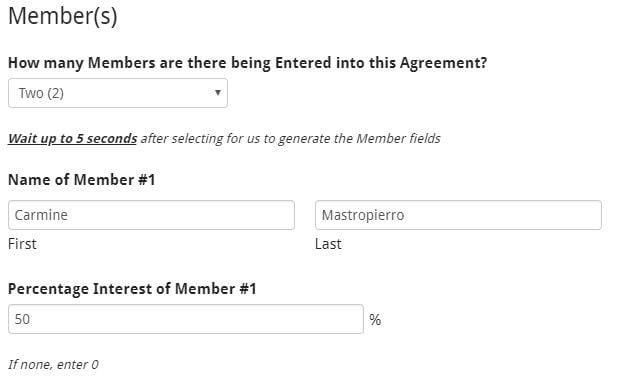 LLC Members