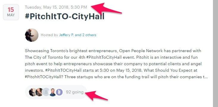 Toronto meetup