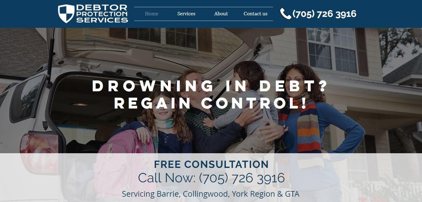 Debtor protection services