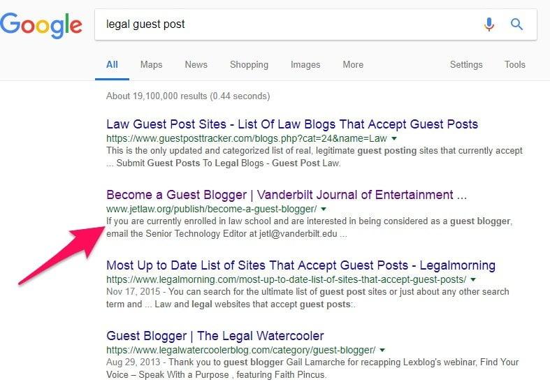Legal guest post