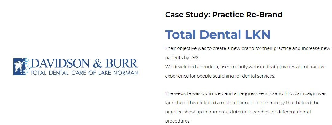 Dental marketing case study