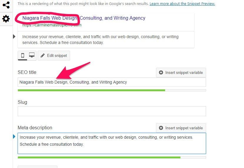 Adding a keyword to WordPress