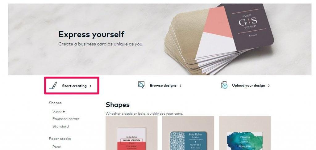design vistaprint business card  carmine mastropierro