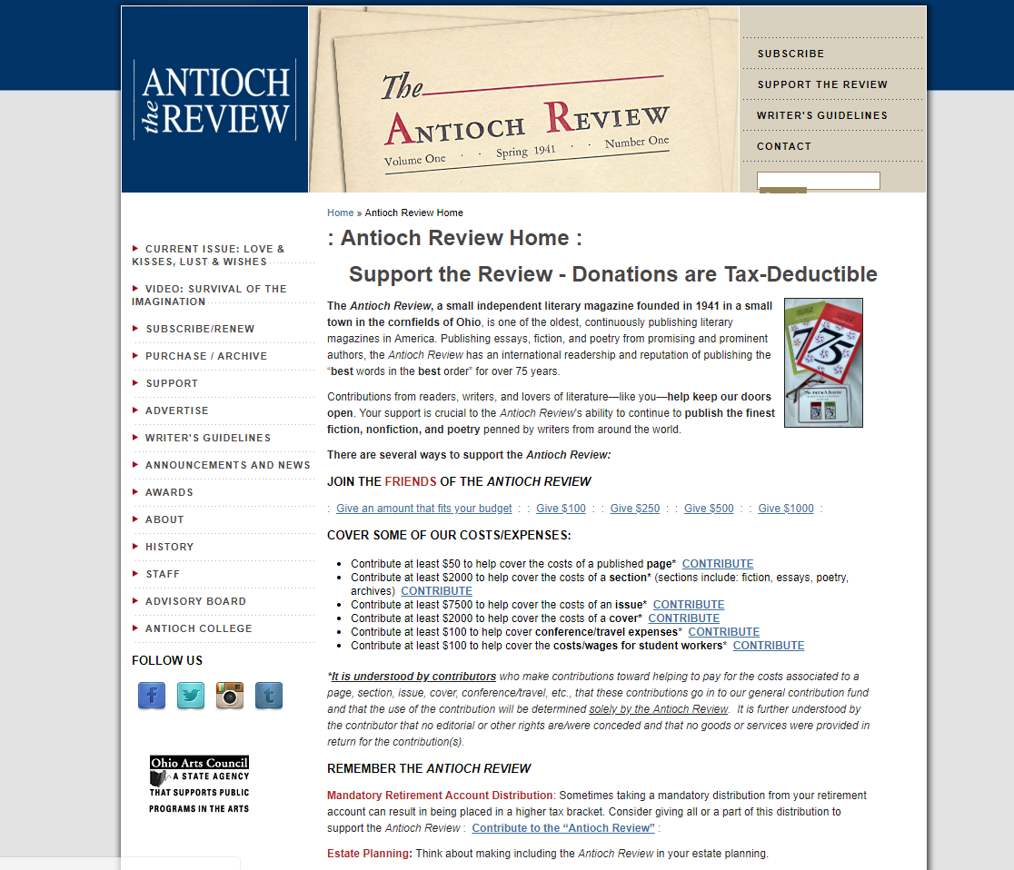 Antioch Review