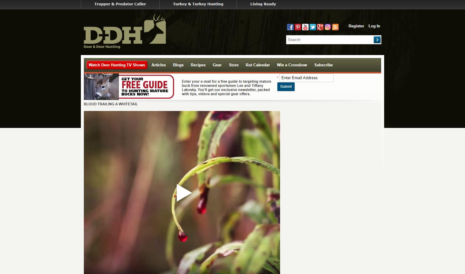 Deer hunting magazine