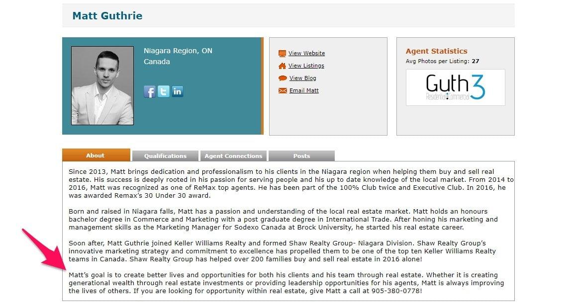 Matt Guthries profile