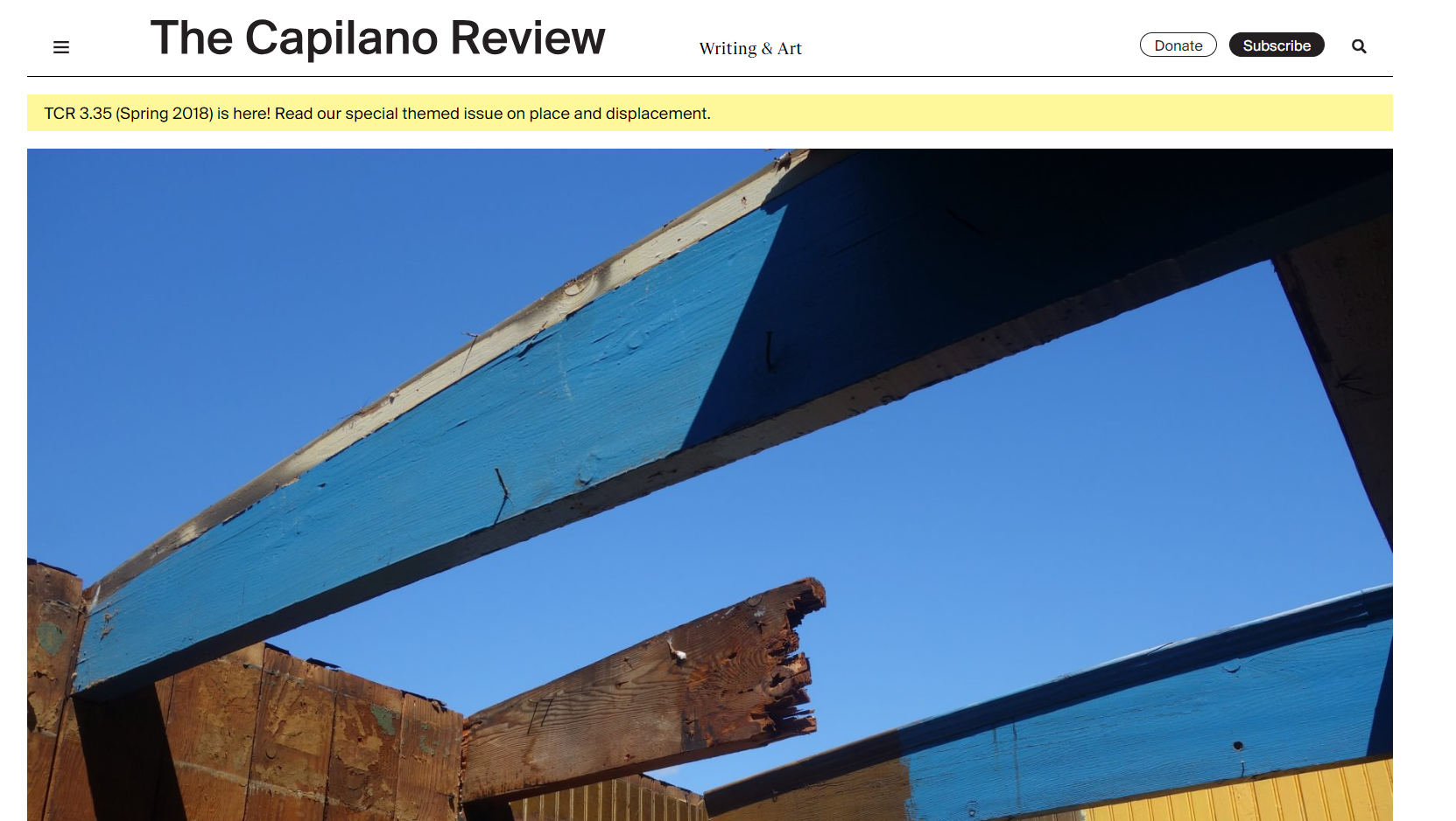 The Capilano Review
