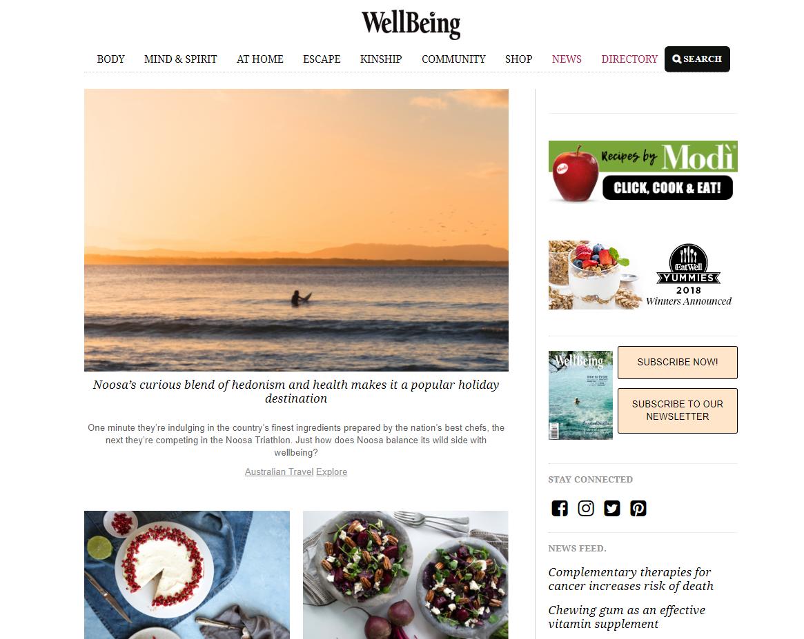 Wellbeing magazine