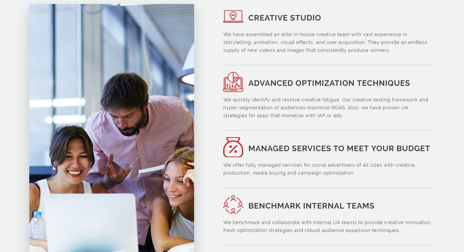 Consumer Acquisition service description