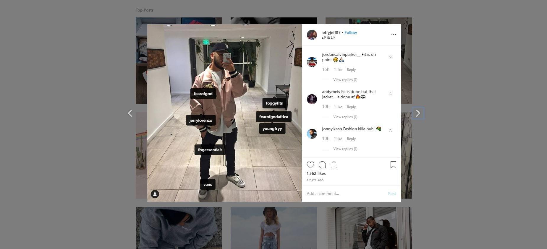 Instagram UGC
