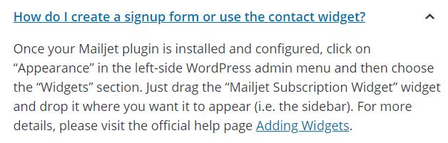 Mailjet FAQ