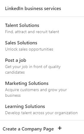 Creating a company page on LinkedIn