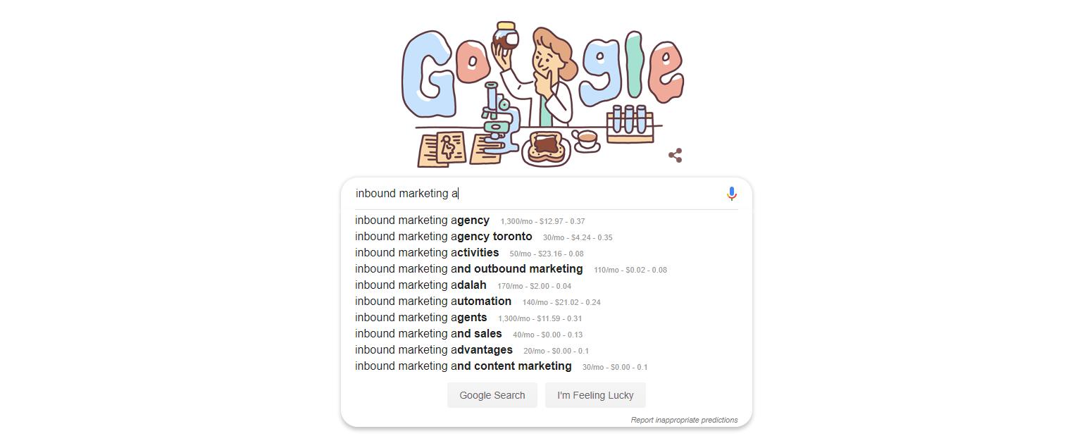 Google alphabet soup