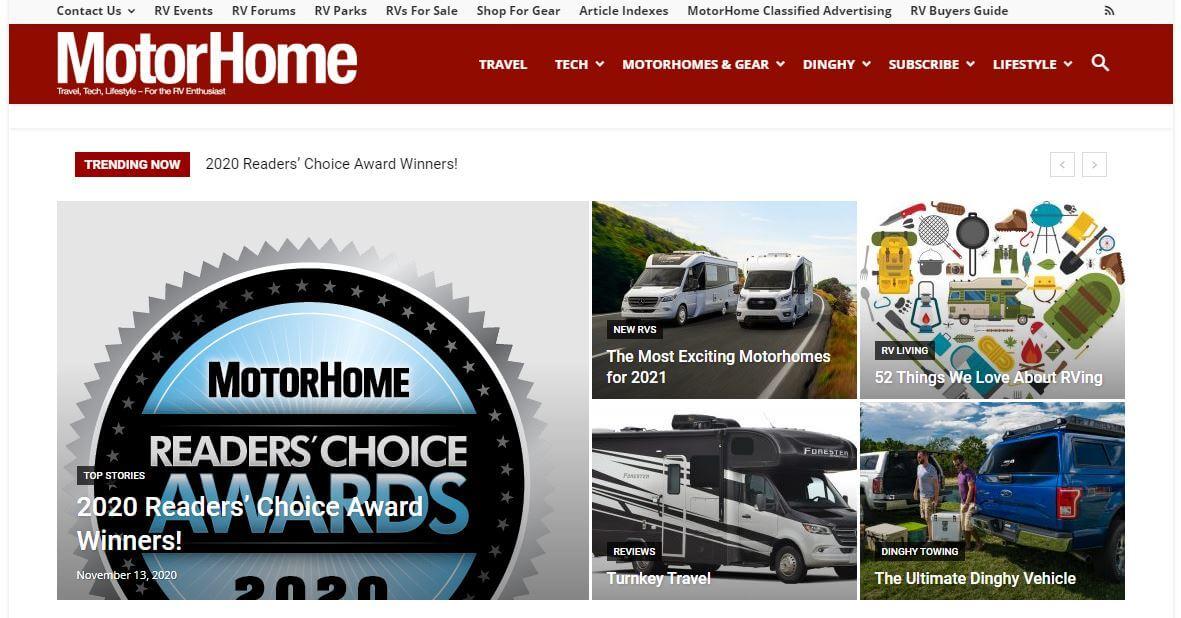 Motorhome magazine