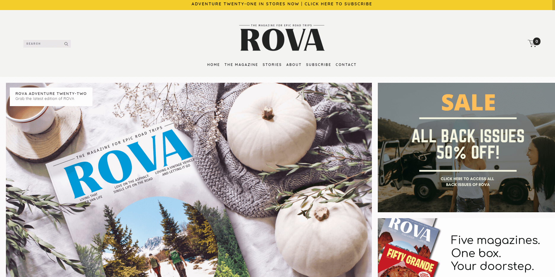 ROVA trvael magazine