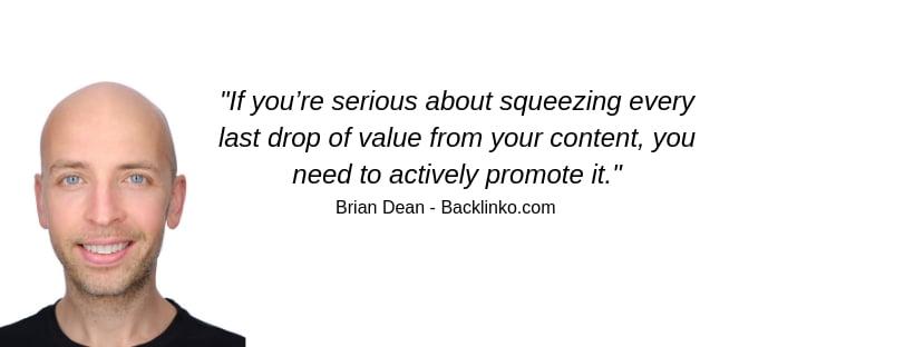Brian Dean quote