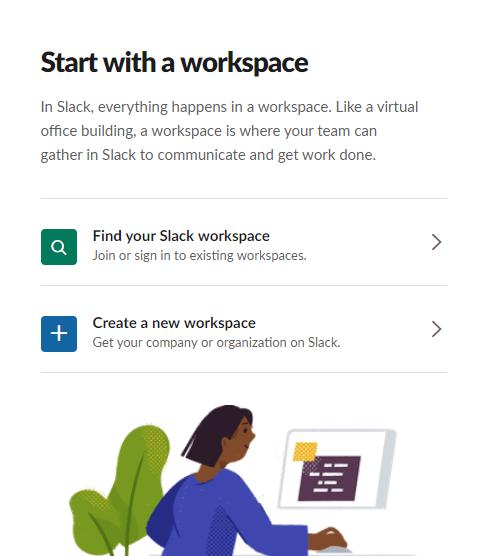 Create workspace