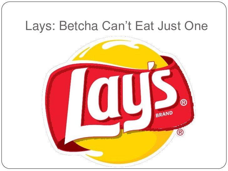 Lays slogan