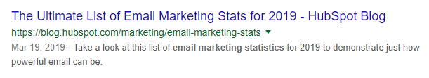 Meta data example
