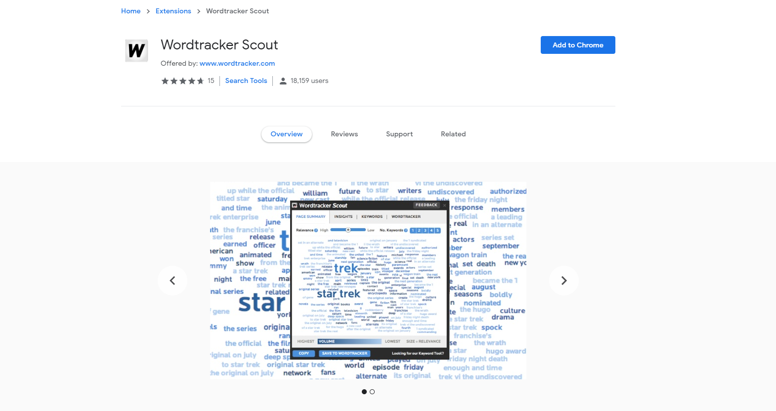 Wordtracker Scout