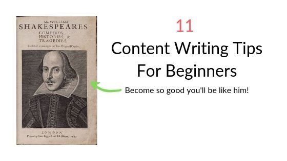 11 Content Writing Tips | Basics of Writing Great Content
