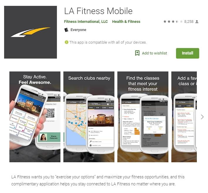 LA Fitness Mobile