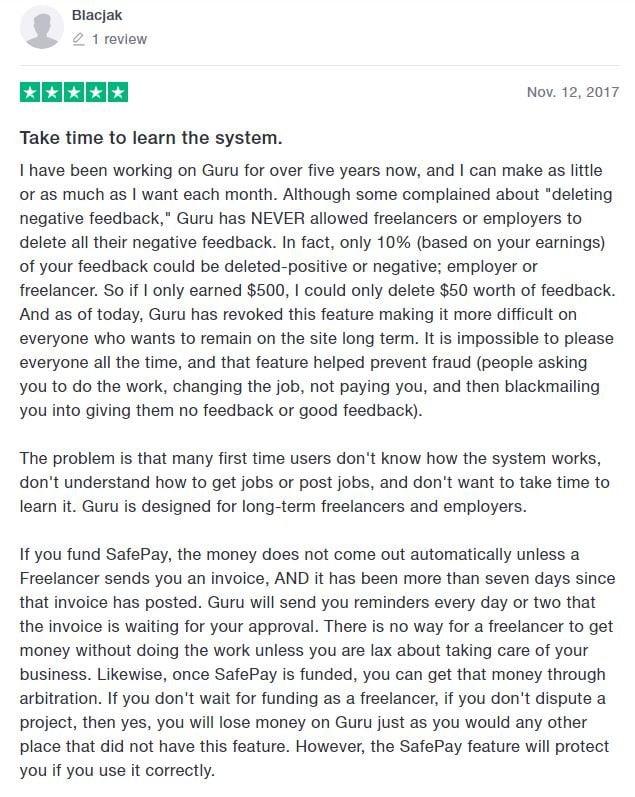 Positive Guru review
