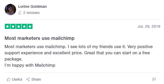 Good Mailchimp review