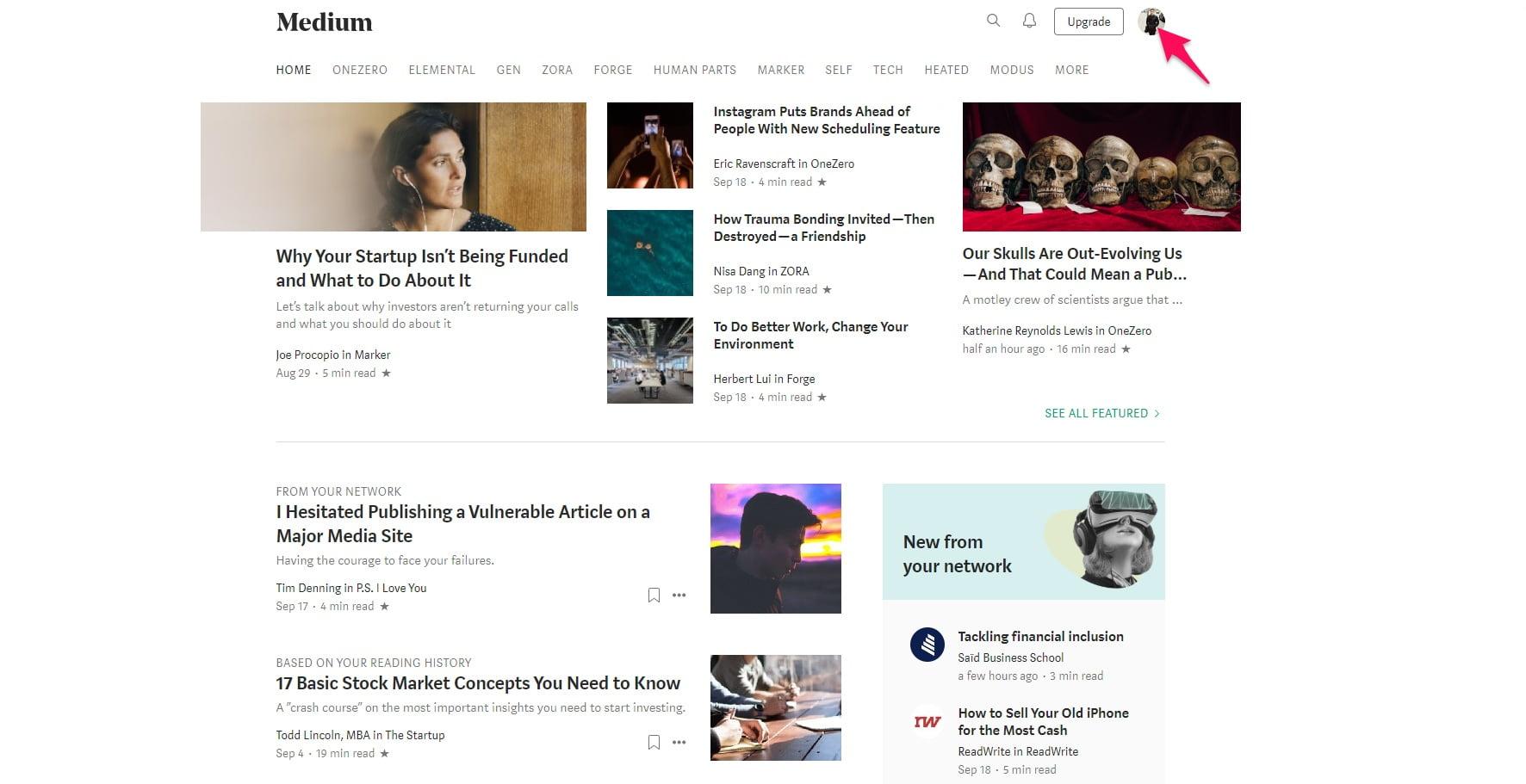 Posting on Medium