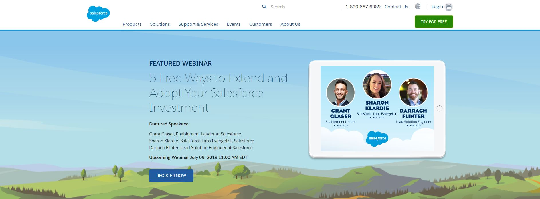 Salesforce webinar