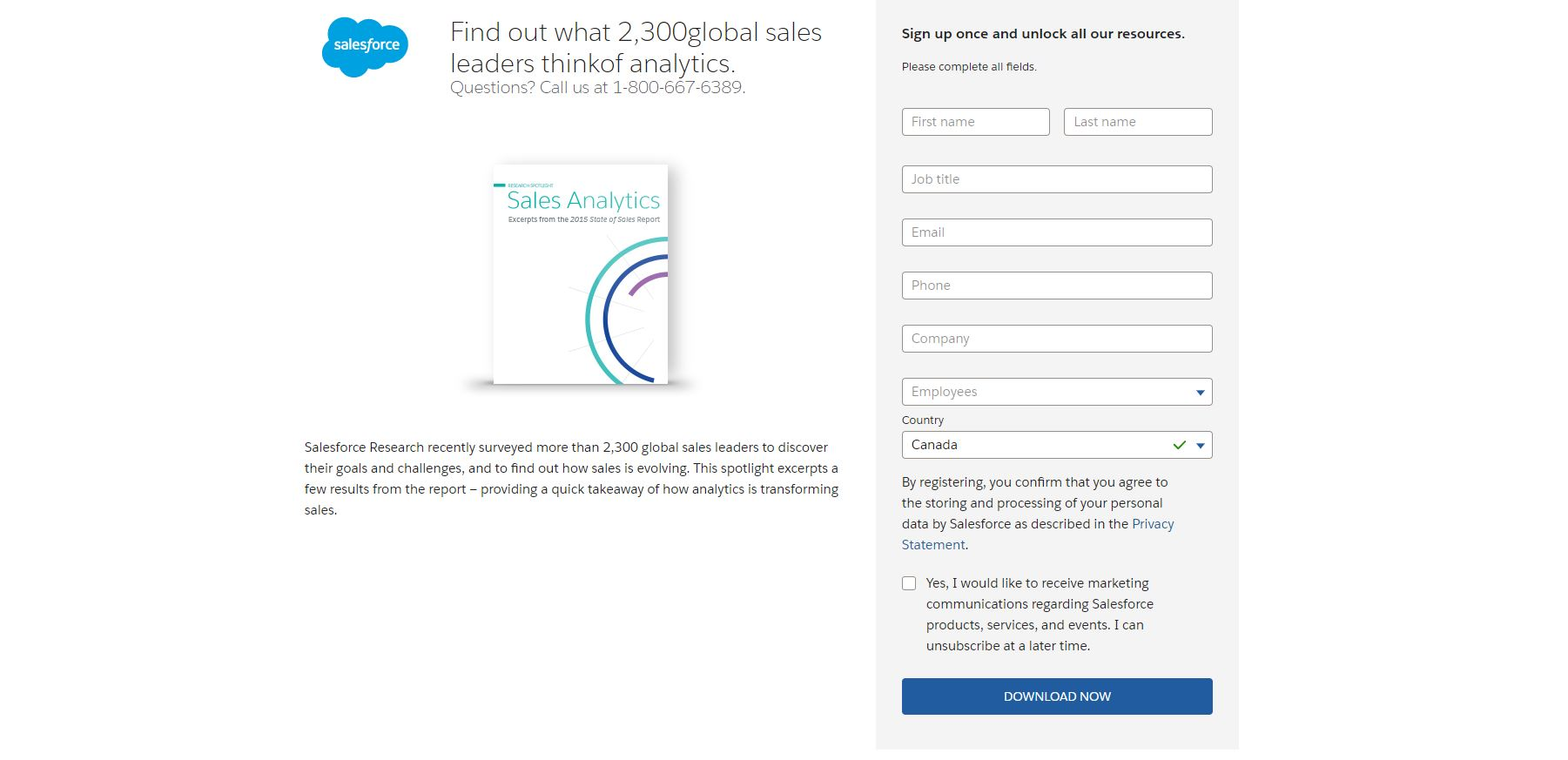 Example of Salesforce whitepaper