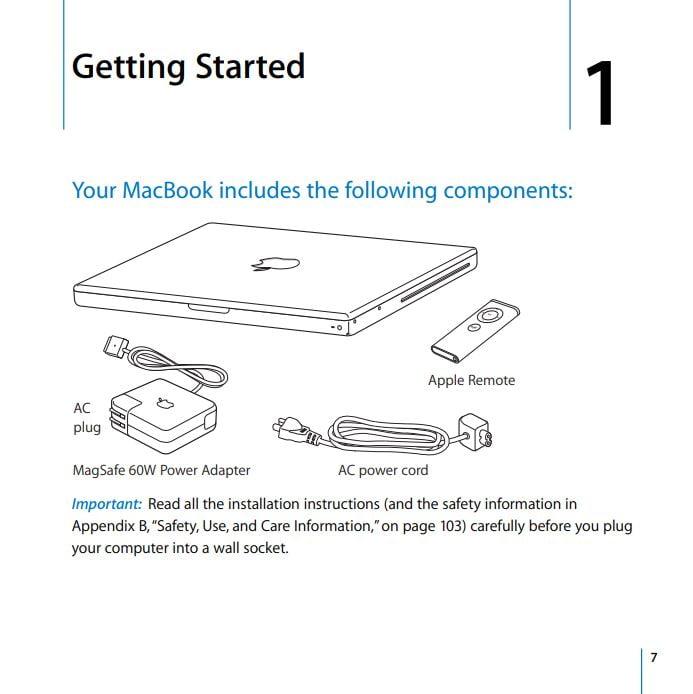 MacBook user manual