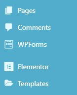 WP pages