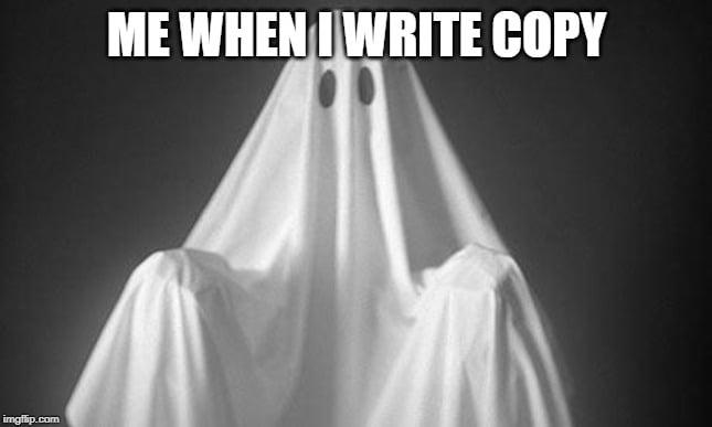 Ghostwriting meme
