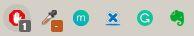 Google Chrome Evernote button