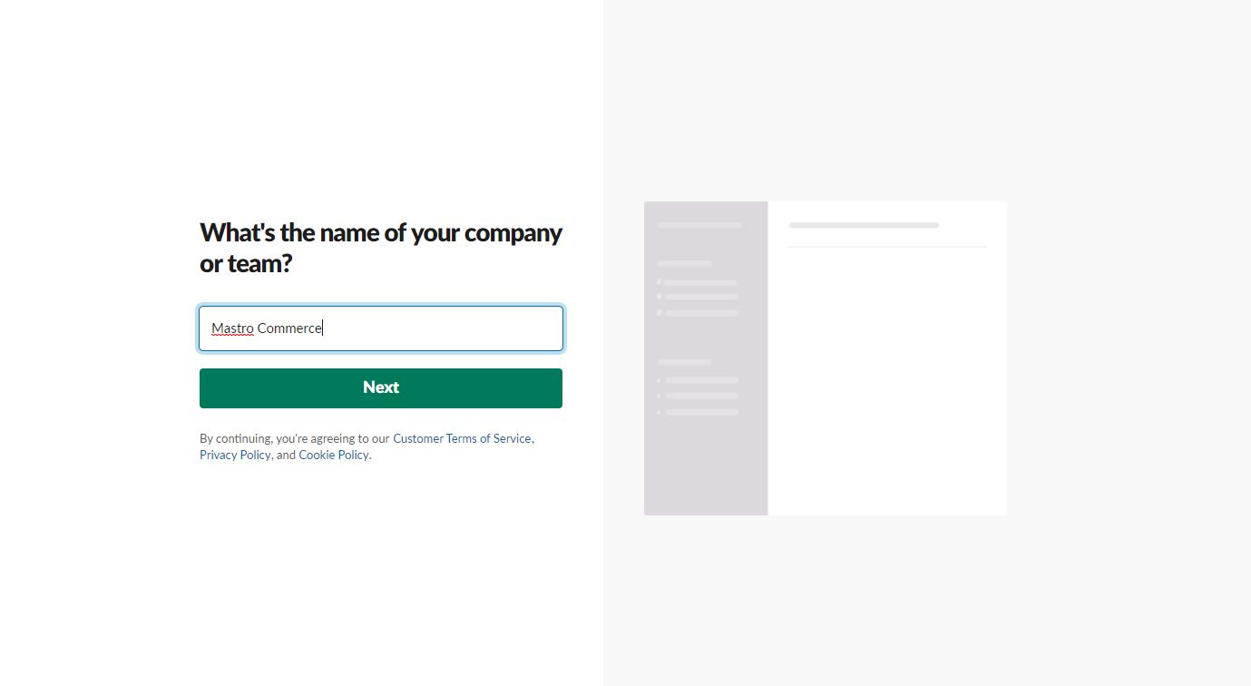 Slack company name