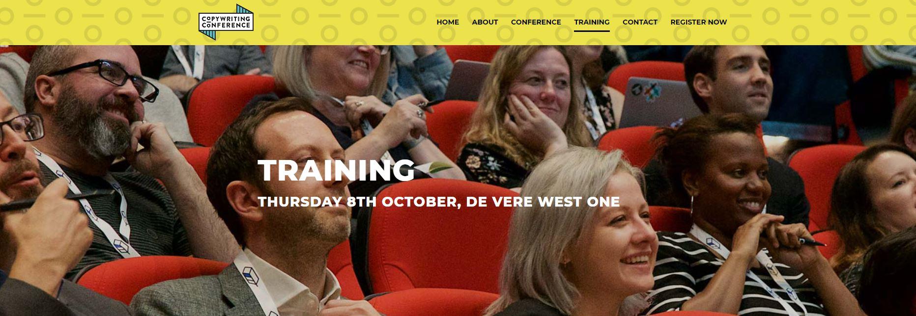 Copywriting Conference registration