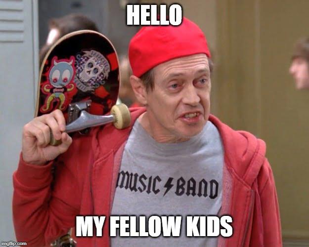 Fellow kids meme