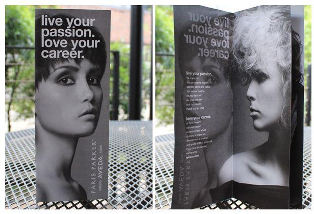 Attention grabbing brochure