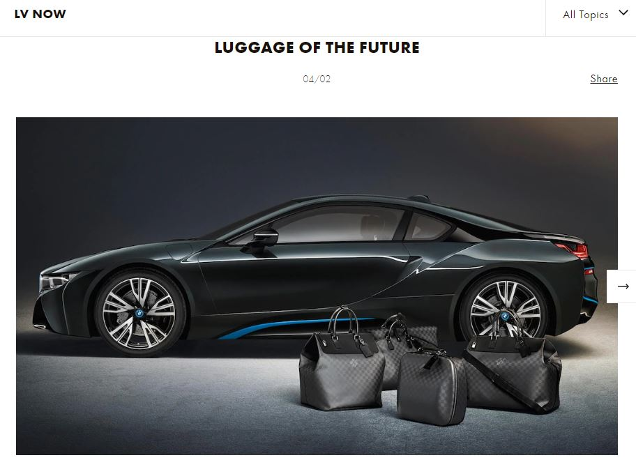 BMW and Louis Vuitton collab