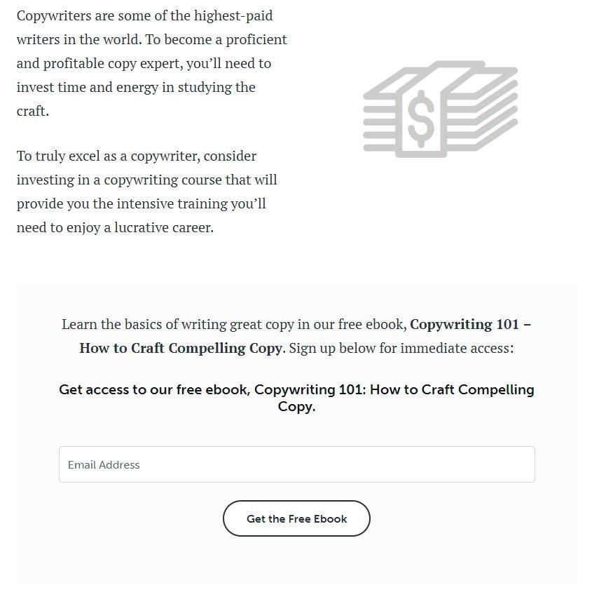 Copybloggers free course