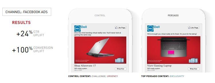 Dell FB ad example