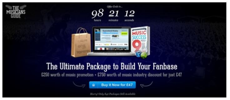 Groupon for musicians deal