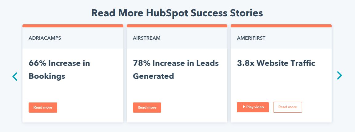 HubSpot success stories