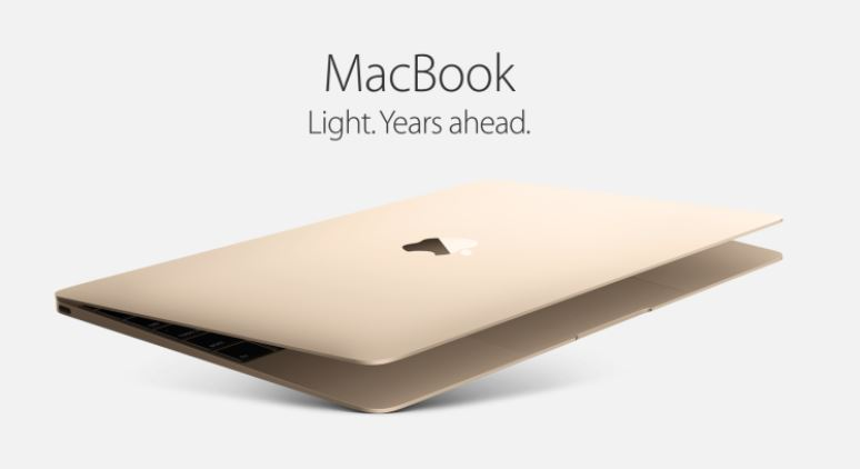 MacBook light years ahead ad
