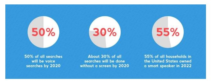 Voice search stat graphic