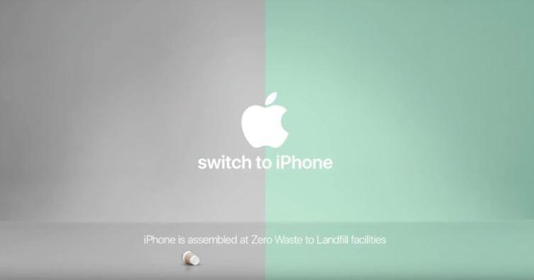 Zero waste Apple ad