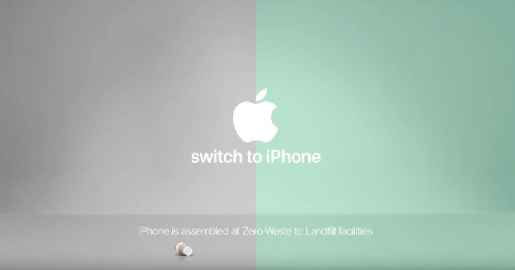 Zero waste Apple ad