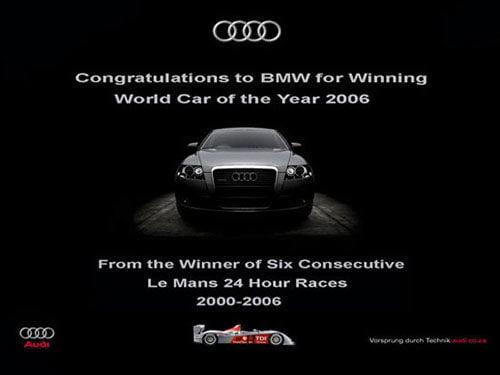 Audi Le Mans ad