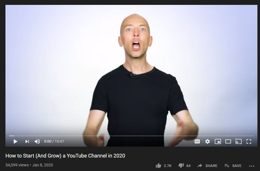 Brian Dean on YouTube